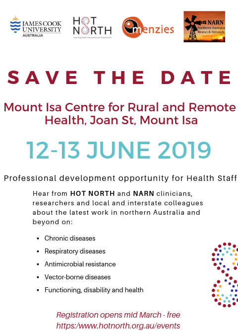 HOT NORTH Mount Isa Save the Date Mount Isa with link (1)