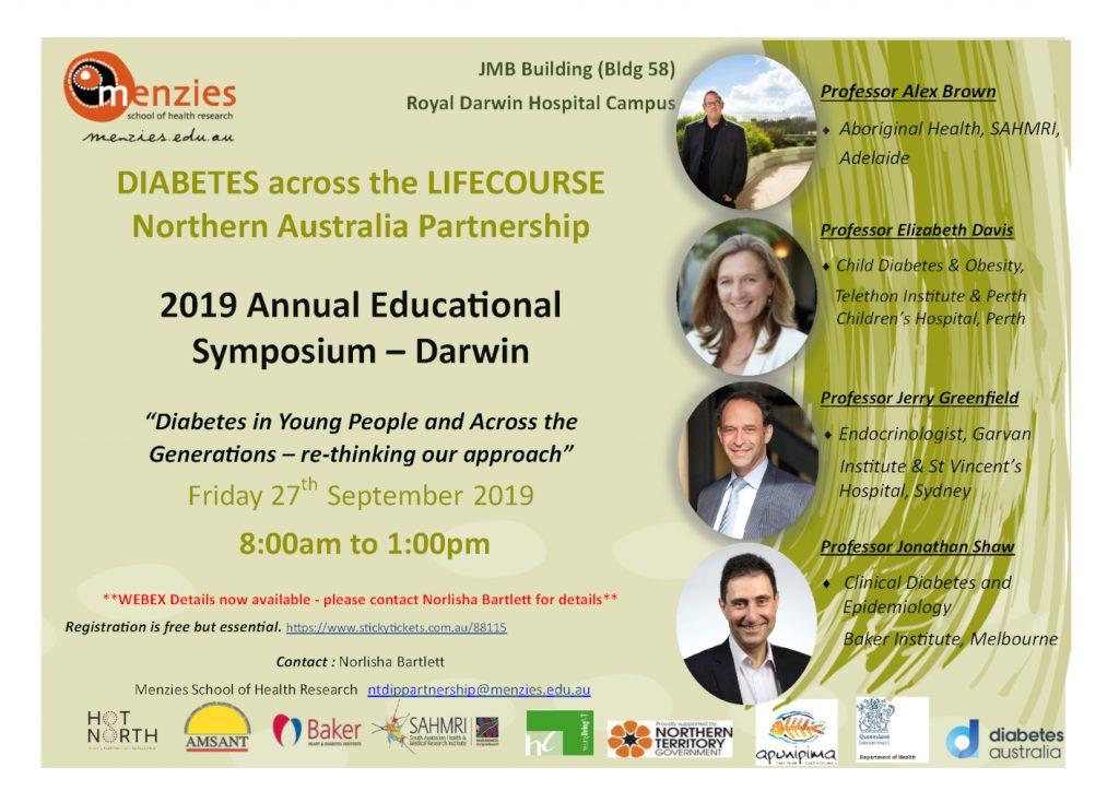 DIABETES across the LIFECOURSE Northern Australia Partnership