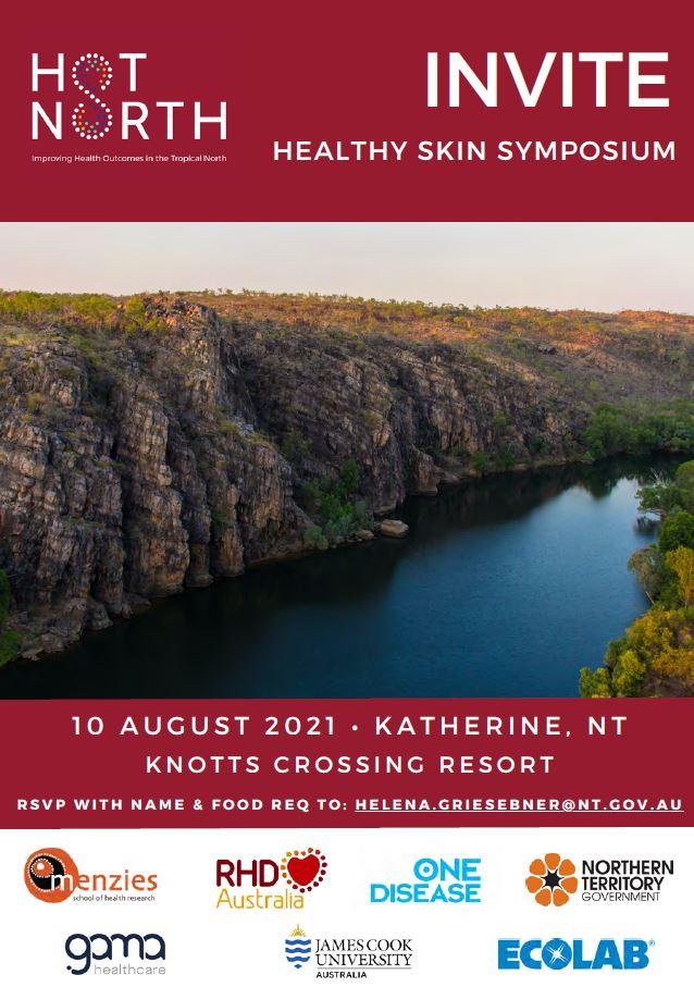 2021 Katherine Healthly Skin Workshop with One Disease_Menzies_RHDAustralia_NTG_GAMA_James Cook University_Ecolab